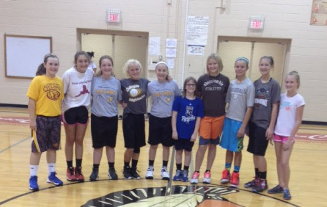 A Day With The Lady Indian Basketball Teams