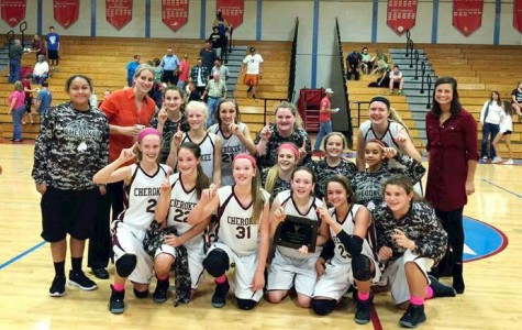 Cherokee Middle School 8th Grade Girls Basketball