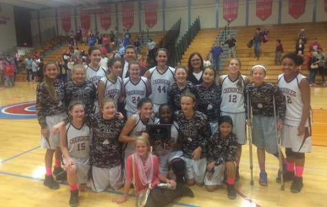 7th Grade Lady Indians -- All City Champs!