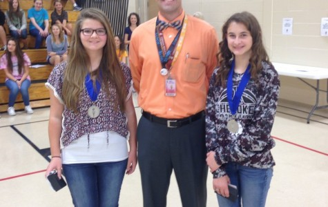Two Transfers from Texas Join Cherokee's NJHS