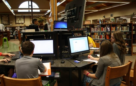 The Cherokee Library is a great place to study!