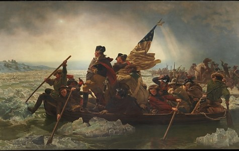 Famous Works of Art: Washington Crossing the Delaware