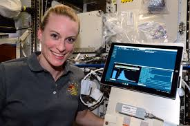 First DNA Sequencing in Space