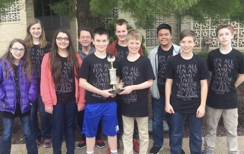 Math Team: 3rd Place