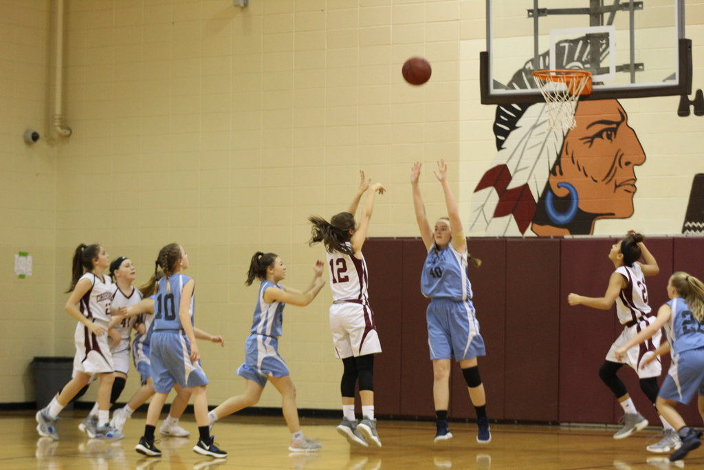 7th grade Girls Basketball Game