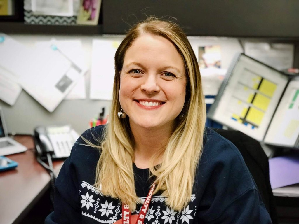 Mrs. Rabinowitz is a counselor at Cherokee Middle School.