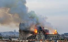 Notre Dame Aflame!